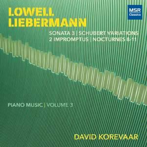 Lowell Liebermann - Piano Music, Vol. 3 Product Image