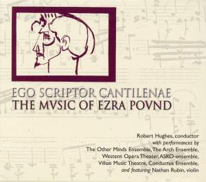 Ego Scriptor Cantilenae - The Music of Ezra Pound Product Image