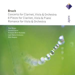 Bruch: Concerto in E minor for clarinet, viola and orchestra Op. 88, etc.