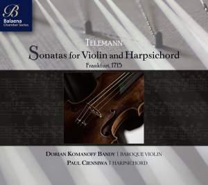 Telemann: Sonatas for Violin & Harpsichord