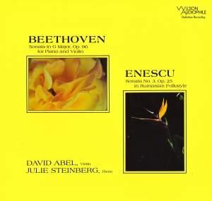 Beethoven: Violin Sonata, Op. 96 - Enescu: Violin Sonata, Op. 25 Product Image