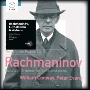 Rachmaninoff, Lutosławski & Webern: Works for Cello & Piano