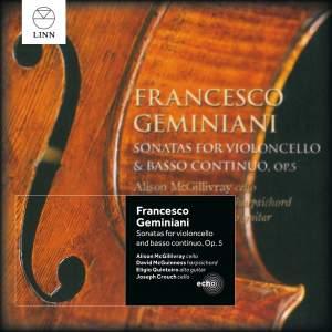Geminiani: Sonatas for Violoncello & Basso Continuo, Op. 5