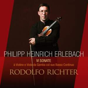 Erlebach: Six Sonatas for Violin & Viola da Gamba with bass continuo