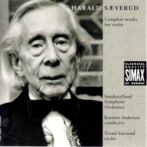 Harald Saeverud: Complete works for violin
