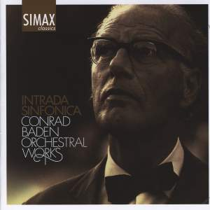 Conrad Baden - Intrada Sinfonica & Other Orchestral Works Product Image