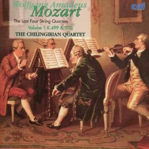 Mozart - The Last Four String Quartets Vol.1 Product Image