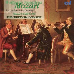 Mozart - The Last Four String Quartets Vol.2 Product Image