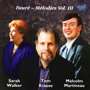 Fauré - Chansons Vol. 3 Product Image