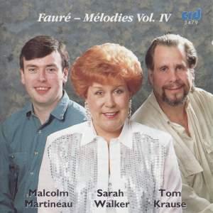 Fauré - Chansons Vol. 4