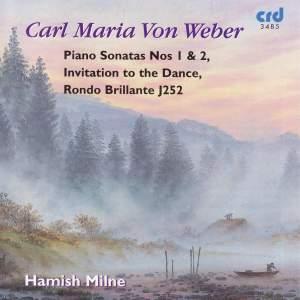 Weber: Piano Sonatas Nos. 1 & 2