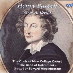 Purcell - Verse Anthems