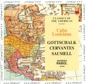 Piano Recital: Cervantes, Saumell & Gottschalk