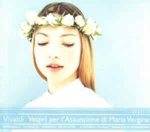 Vivaldi: Vespri solenni per la festa dell'Assunzione di Maria Vergine