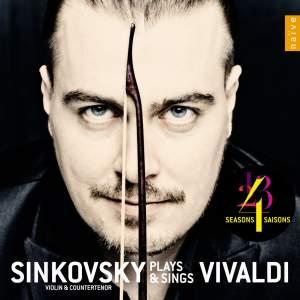 Sinkovsky plays and sings Vivaldi Product Image