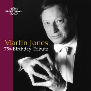 Martin Jones: 75th Birthday Tribute