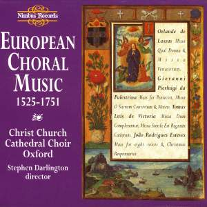 European Choral Music 1525-1751