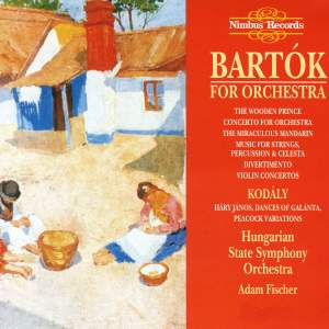 Bartok For Orchestra