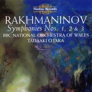 Rachmaninov: Symphonies Nos. 1-3, Etudes-Tableaux, Vocalise