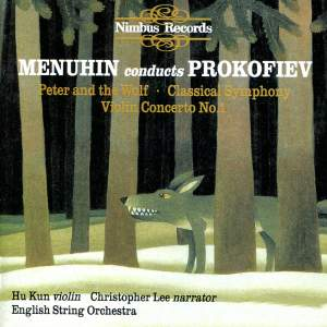 Menuhin conducts Prokofiev