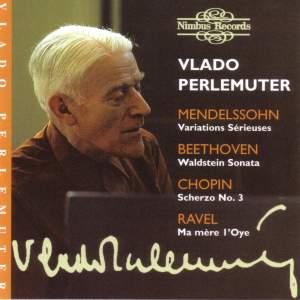 Vlado Perlemuter: Piano Recital