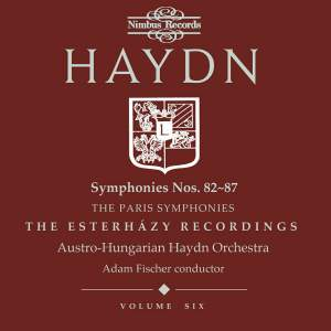 Haydn Symphonies Volume 6, Nos. 82 - 87 (the Paris Symphonies)