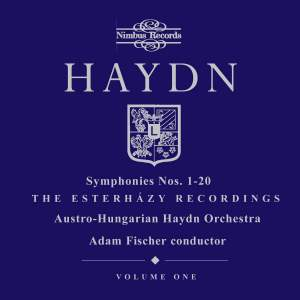 Haydn Symphonies Volume 1, Nos. 1-20