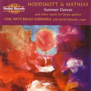Hoddinott & Mathias: Summer Dances