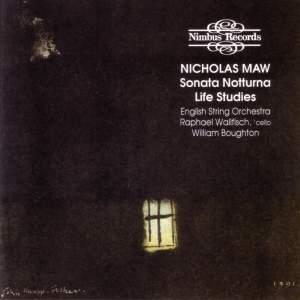 Nicholas Maw: Sonata Notturna & Life Studies