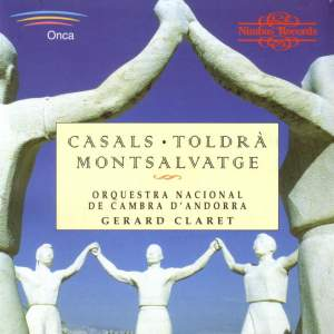 Music by Toldrá, Casals & Montsalvatge Product Image