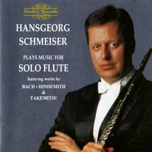 Hansgeorg Schmeiser Plays Music For Solo Flute