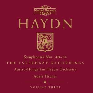 Haydn Symphonies Volume 3, Nos. 40-54