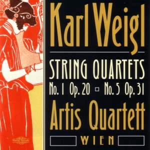 Karl Wiegl: String Quartets Nos. 1 & 5