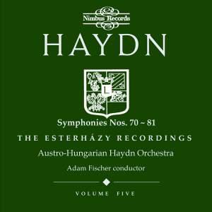 Haydn Symphonies Volume 5, Nos. 70-81