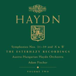 Haydn Symphonies Volume 2, Nos. 21-39 and 'A' & 'B'