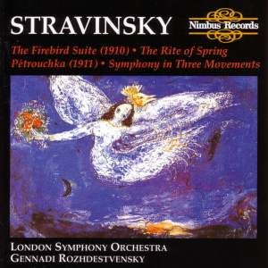 Stravinsky: Firebird Suite, Rite of Spring, Petrushka