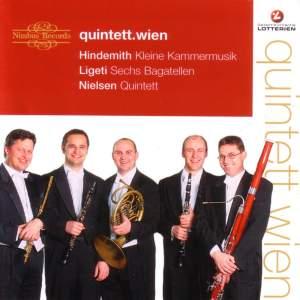 Hindemith, Ligeti, Nielsen: Works for Wind Quintet Product Image