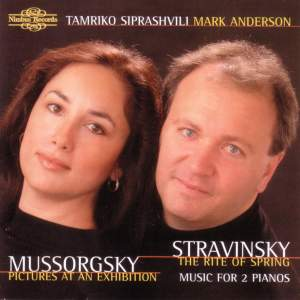 Mussorgsky & Stravinsky: Music for Two Pianos