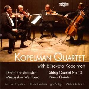 Kopelman Quartet play Shostakovich & Weinberg Product Image