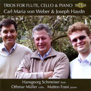 Weber & Haydn: Trios For Flute, Cello & Piano