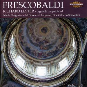 Richard Lester plays Frescobaldi - Volume 5