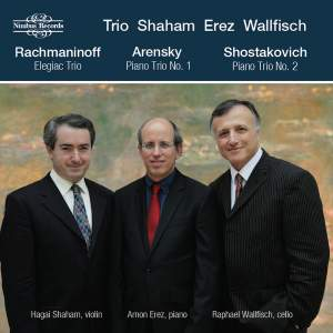 Rachmaninoff, Arensky, Shostakovich & Mussorgsky: Piano Trios