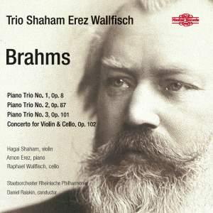 Brahms: Piano Trios Nos. 1-3 & Concerto for Violin & Cello