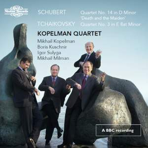 Schubert & Tchaikovsky: Works for String Quartet