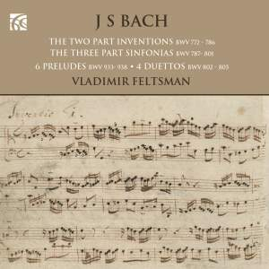 JS Bach: Inventions, Six Little Preludes & Duets