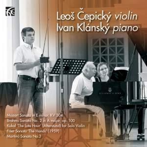Leoš Čepický & Ivan Klánský: Violin Sonatas