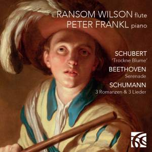 Works for Flute & Piano: Ransom Wilson & Peter Frankl Product Image