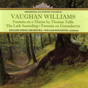 Orchestral Favourites Volume III - Vaughan Williams