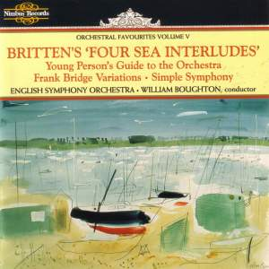 Orchestral Favourites Volume V - Britten's Four Sea Interludes Product Image