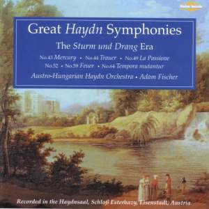 Great Haydn Symphonies - The Sturm und Drang Era